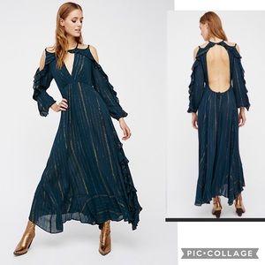 NWT FREE PEOPLE The Huxley Maxi Dress